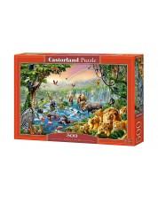 Пъзел Castorland от 500 части - Река в джунглата