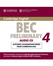Cambridge BEC 4 Preliminary Audio CD