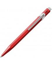 Автоматична химикалка Caran d'Ache 849 Metal Collection Red – Син -1