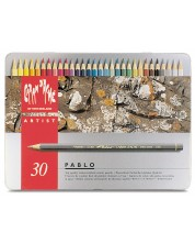 Цветни акварелни моливи Caran d'Ache Pablo – 30 цвята