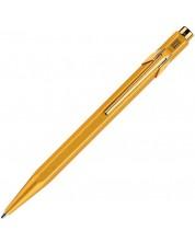 Автоматична химикалка Caran d'Ache 849 Special Edition Collection Gold Bar  – Син -1