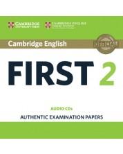 Cambridge English First 2 Audio CDs (2) -1