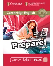 Cambridge English Prepare! Level 4 Presentation Plus DVD-ROM
