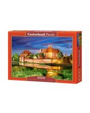 Пъзел Castorland от 1000 части - Замъка Малборк в Полша -1