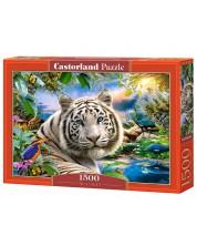 Пъзел Castorland от 1500 части - Тигър
