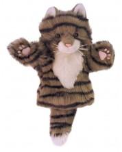 Кукла-ръкавица The Puppet Company - Сива котка
