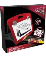 Дъска за рисуване D'Arpeje - Disney Cars, малка