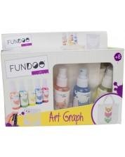 Творчески комплект Fundoo - Детска торбичка за оцветяване -1