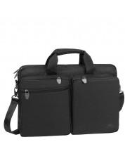 """Чанта за лаптоп Rivacase 8530 - за 15.6"""", черна -1"""