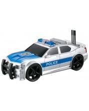 Детска играчка City Service - Полицейски автомобил, 1:20, със звук и светлини -1