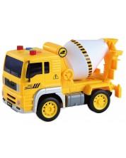 Детска играчка City Service - Строителен камион, със звук и светлини, асортимент -1
