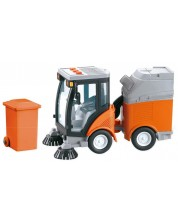 Детска играчка City Service - Машина за почистване на улиците, със звук и светлини -1