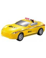 Детска играчка City Service - Такси, със звук и светлини -1