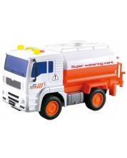 Детска играчка City Service - Камион, със звук и светлини, асортимент -1