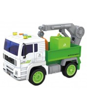 Детска играчка City Service - Боклукчийски камион, със звук и светлини, асортимент