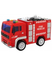 Детска играчка City Service - Пожарникарски камион, със звук и светлини, асортимент