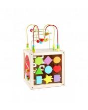 Дидактически детски дървен куб Classic World
