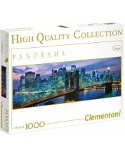 Панорамен пъзел Clementoni от 1000 части - Ню Йорк -1