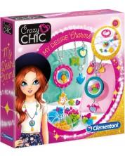 Творчески комплект Clementoni Crazy Chic - Направи си колие -1