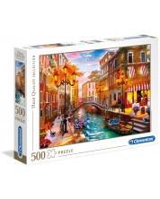 Пъзел Clementoni от 500 части - Залез над Венеция, Доминик Дейвисън