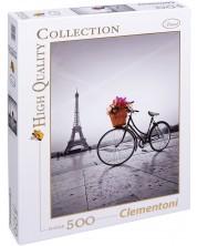 Пъзел Clementoni от 500 части - Романтична разходка в Париж