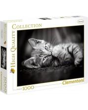 Пъзел Clementoni от 1000 части - Котенце