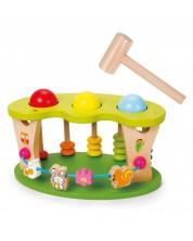 Дървена играчка - удари топката Classic World -1