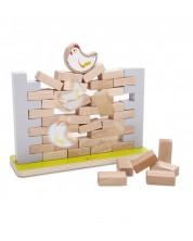 Дървена стена за нареждане Classic World -1