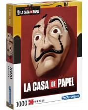 Пъзел Clementoni от 1000 части - La Casa De Papel -1