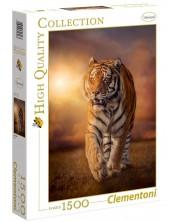 Пъзел Clementoni от 1500 части - Тигър