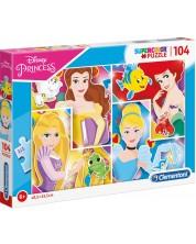 Пъзел Clementoni от 104 части - Дисни Принцеси