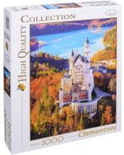 Пъзел Clementoni от 1000 части - Замъкът Нойшванщайн, Германия