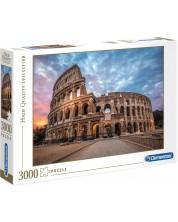 Пъзел Clementoni от 3000 части - Колизеума на изгрев