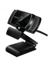 Уебкамера с микрофон Canyon - CNS-CWC5, черна -1