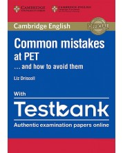 Common Mistakes at PET… and How to Avoid Them Paperback with Testbank -1