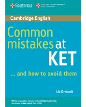 Common Mistakes at KET -1