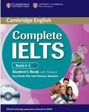 Complete IELTS Bands 4–5 Student's Book with Answers with CD-ROM
