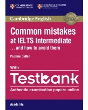 Common Mistakes at IELTS Intermediate Paperback with IELTS Academic Testbank -1