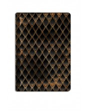 Текстилен калъф за Kindle Paperwhite With Scent of Books - Dragon treasure, Gold & Diamond Black