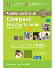 Compact First for Schools Presentation Plus DVD-ROM