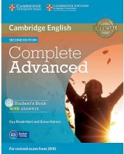 Complete Advanced Second Edition Student's Book (учебник + CD-ROM)