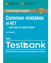 Common Mistakes at KET… and How to Avoid Them Paperback with Testbank -1