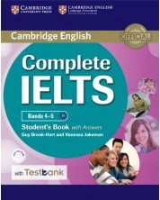 Complete IELTS Bands 4–5 Student's Book with Answers with CD-ROM with Testbank