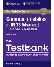 Common Mistakes at IELTS Advanced Paperback with IELTS General Training Testbank -1