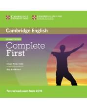 Complete First Certificate 2nd edition: Английски език - ниво В2 (2 CD към учебника) -1