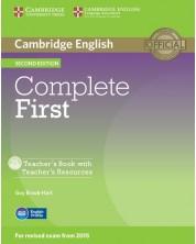 Complete First Certificate 2nd edition: Английски език - ниво В2 (книга за учителя) -1