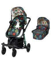 Бебешка количка Cosatto Giggle Quad - Hare Wood -1