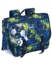 Класическа ученическа чанта с презрамки Gabol Coach -1