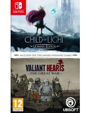 Compilation Child Of Light & Valiant Hearts (Nintendo Switch)