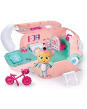 Комплект IMC Toys Cry Babies Magic Tears - Кемпърът на Коали с джакузи -1